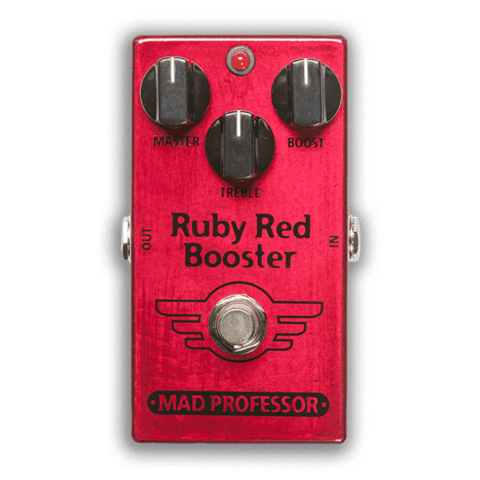 Pedal Mad Professor Ruby Red Booster