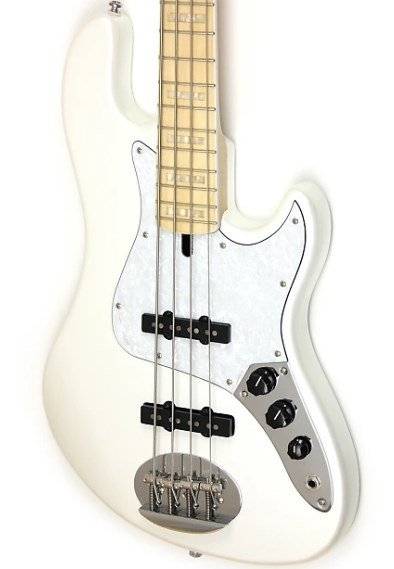Bajo Lakland Skyline Darryl Jones 4 Maple White Pearl