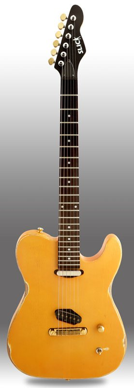 Guitarra Slick Guitars SL50 Tv Yellow Telecaster
