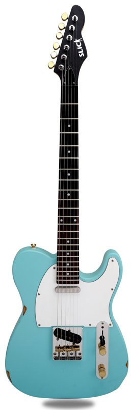 Guitarra Slick Guitars SL51 Daphne Blue Telecaster