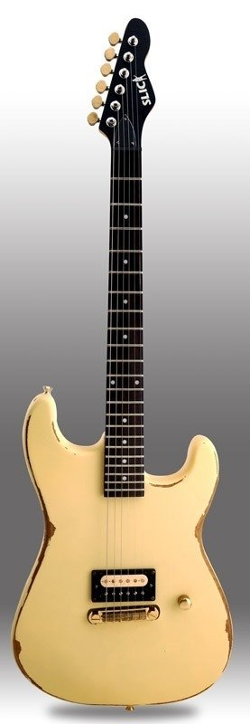 Guitarra Slick Guitars SL54 Vintage Cream Stratocaster
