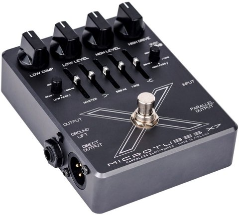Pedal Preamplificador Darkglass Microtubes X7 Multiband Distortion - Kairon Music Srl
