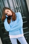 SWEATER MORGANA - BABY BLUE