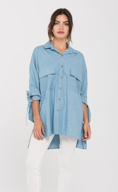 CAMISA POSITANO SOFT DENIM