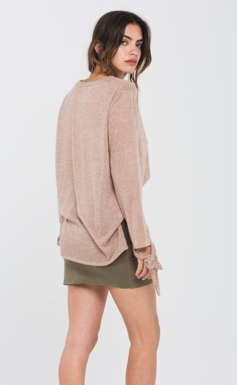 SWEATER PRAIANO CAMEL