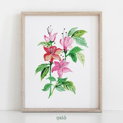 Cuadro WATERCOLOR FLOWERS