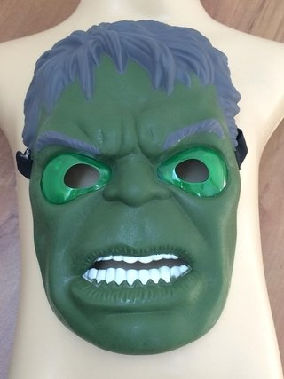 Máscara Hulk com Led