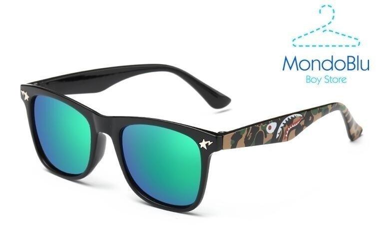 524276207 Óculos de Sol Menino UV 400 - Plástico c/ estojo