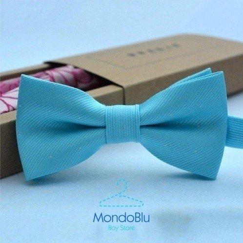 c53cf8a01 Gravata Borboleta - Azul Claro - MondoBlu Boy Store
