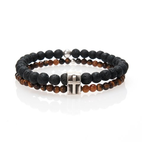 PULSERA INVICTUS BROWN