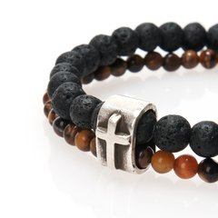 PULSERA INVICTUS BROWN - buy online