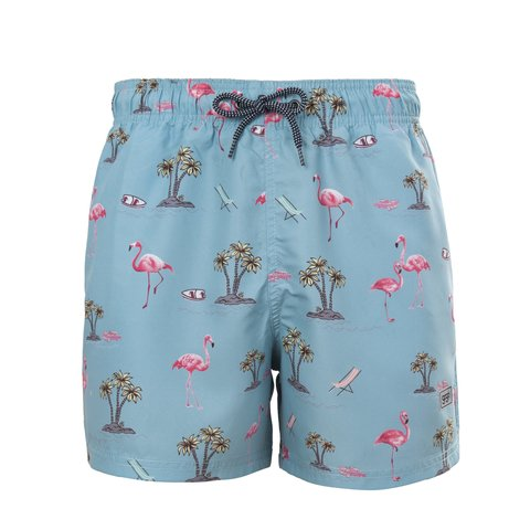 SHORT FLAMINGO BLUE
