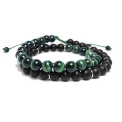PULSERA GREEN DUO