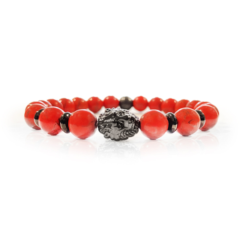 PULSERA LION BLACK