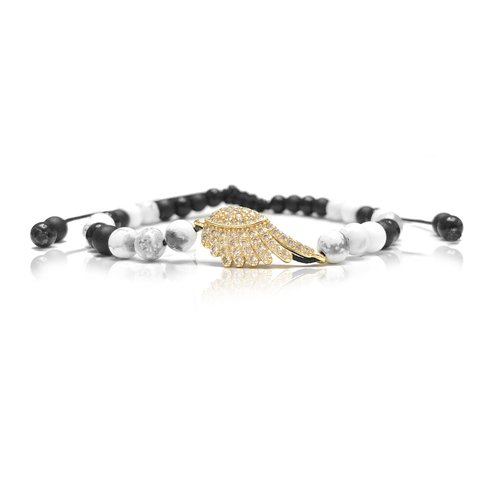 PULSERA GOLD WING