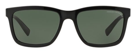 Lentes de Sol Rectangular Negro Armani Exchange en internet