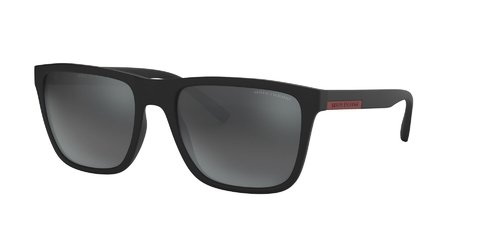 Lentes de Sol Grey Mirror Exchange Armani