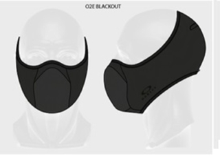 Face Mask Oakley - FIT Negro