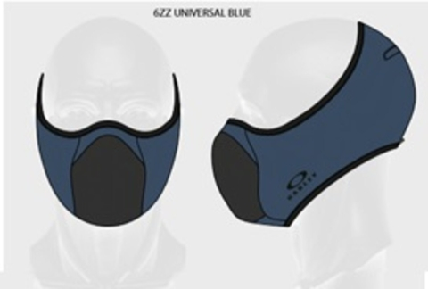 Face Mask Oakley - FIT azul