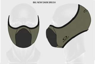 Face Mask Oakley - FIT verde