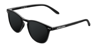 Lentes de Sol Polarizados Wall All Black Northweek