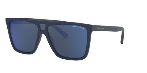 Lentes de Sol Modified Aviator Navy Armani Exchange