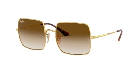 Lentes de Sol Square Classic Gold Brown Ray-Ban