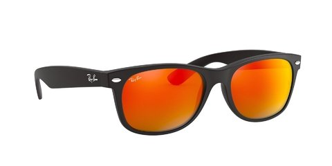Lentes de Sol New Wayfarer Matte Orange Ray-Ban - Lens Chile