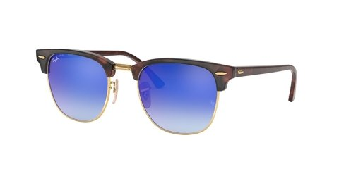 Lentes de Sol Clubmaster Blue Flash Ray-Ban