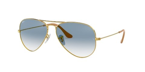 Lentes de Sol Aviator Blue Gradient Ray-Ban