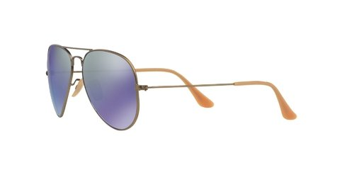 Imagen de Lentes de Sol Aviator Bronze Blue Flash Ray-Ban