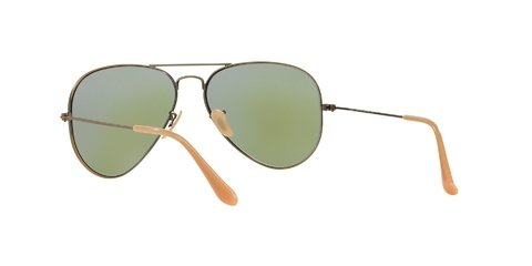 Lentes de Sol Aviator Bronze Blue Flash Ray-Ban - Lens Chile