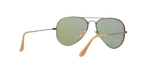 Lentes de Sol Aviator Bronze Blue Flash Ray-Ban - comprar online