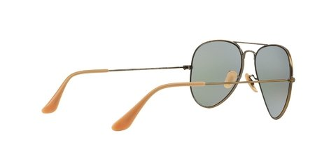 Lentes de Sol Aviator Bronze Blue Flash Ray-Ban