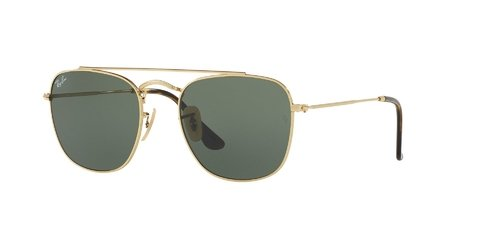 Lentes de Sol Gold Green Ray-Ban