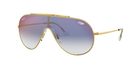 Lentes de Sol Wings Gold Blue Gradient Ray-Ban