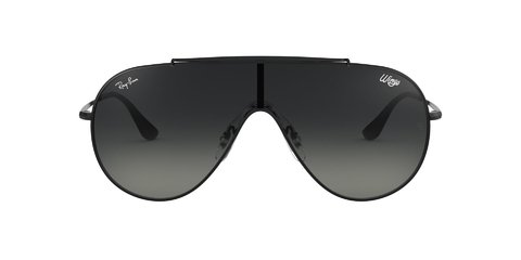 Lentes de Sol Wings Black Grey Gradient Ray-Ban - comprar online