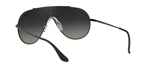 Lentes de Sol Wings Black Grey Gradient Ray-Ban - Lens Chile