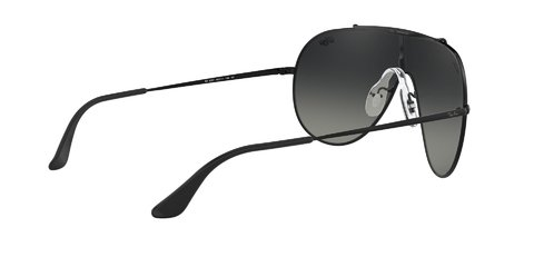 Lentes de Sol Wings Black Grey Gradient Ray-Ban