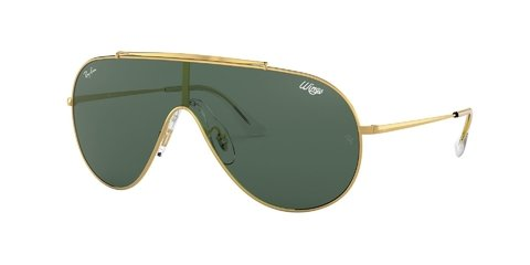 Lentes de Sol Wings Gold Dark Green Ray-Ban