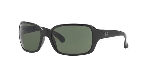 Lentes de Sol Black Green Ray-Ban