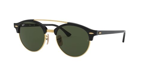 Lentes de Sol Clubround Double Bridge Ray-Ban