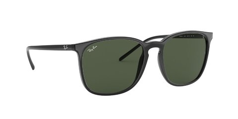 Lentes de sol Ray-Ban RB4387 Black Green - Lens Chile