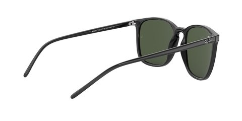 Lentes de sol Ray-Ban RB4387 Black Green