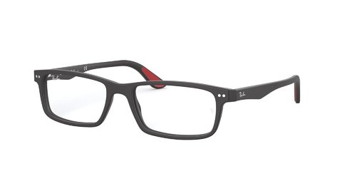 Lentes îpticos Sandblasted Black Ray-Ban