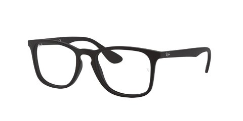 Lentes îpticos Rubber Black Ray-Ban