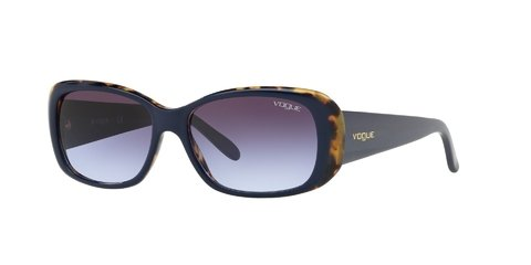 Lentes de Sol Top Blue Tortoise Vogue