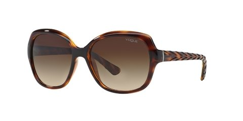 Lentes de Sol Striped Dark Havana Vogue
