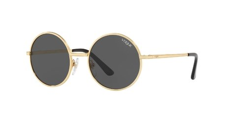Lentes de Sol Gold Grey Vogue