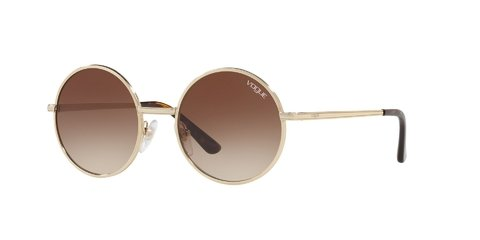 Lentes de Sol Pale Gold Vogue